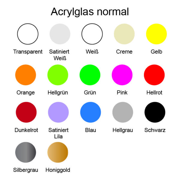 Acrylglas normal