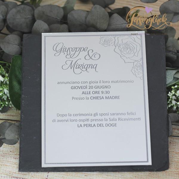 Glänzende Einladung
