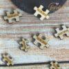 Miniholzpuzzle zum streuen