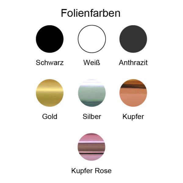 Folienfarbe