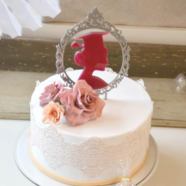 CakeTopper Zweifarbig